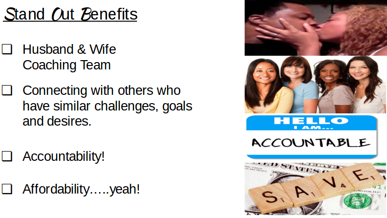 Stand Out Benefits
