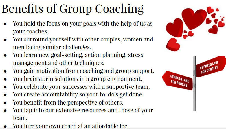 benefits of group coaching